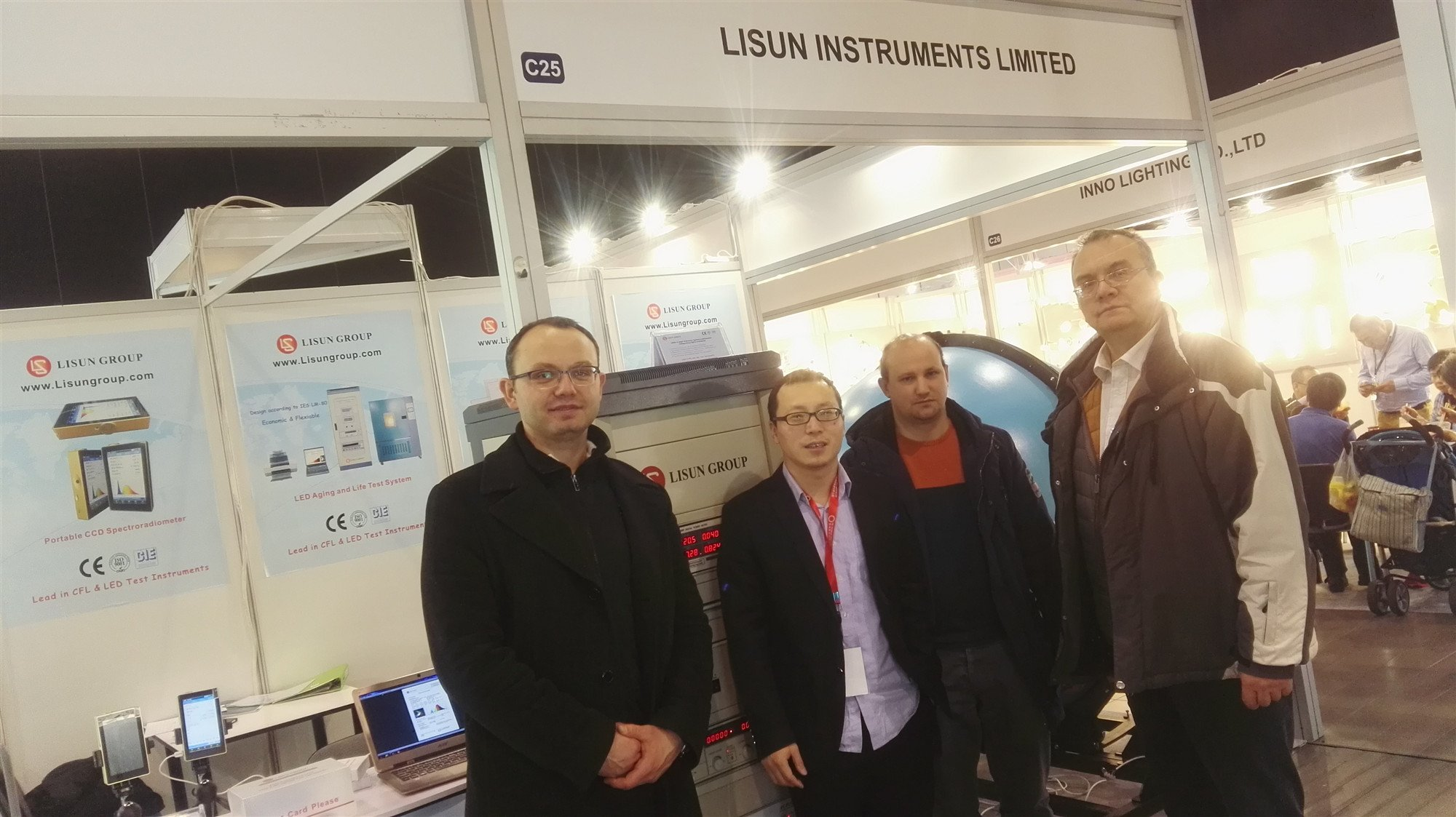 LISUN successfully participate in the Lighting Poland 2018