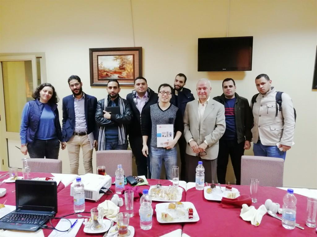 LISUN Hold a lighting Technology Salon in Egypt
