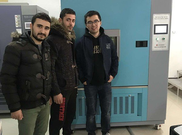 Algeria - LISUN Engineer do installation and training for our clients about environmental chambers, vibration table and surge generator