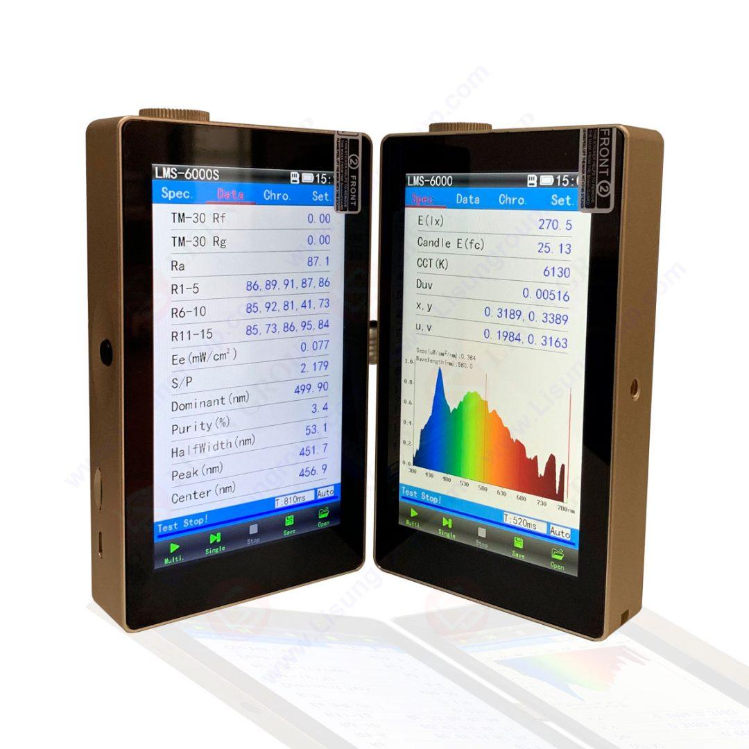Přenosný spektrometr CCD
