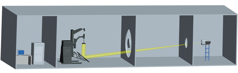 LSG-5000 Moving Detector Goniophotometer Dark Room