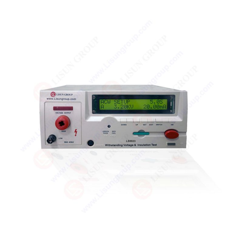 Programmable Withstanding Voltage & Insulation Test