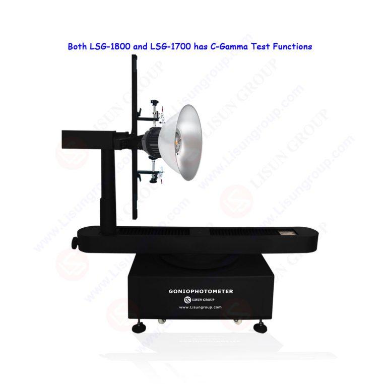 Goniospectroradiomètre à luminaire rotatif