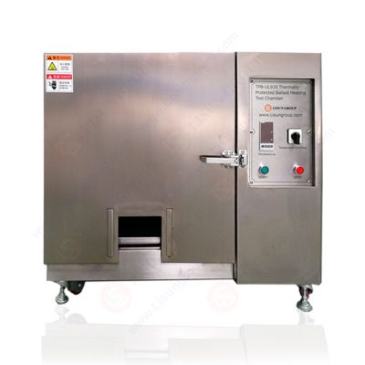 Thermally Protected Ballast Heating Test Chamber