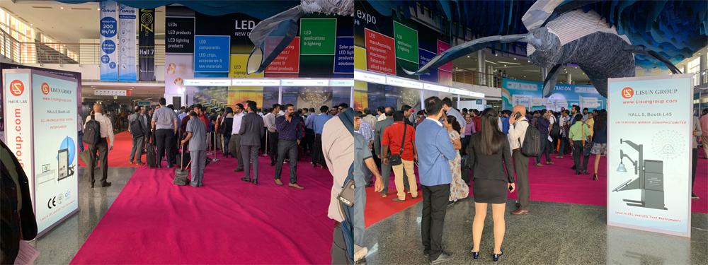 LISUN 2019 LED Expo New Delhi Successfully Concluded 1