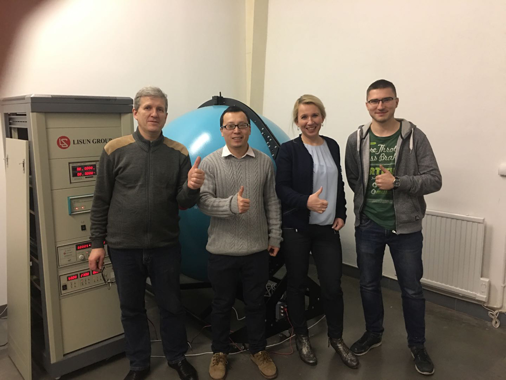 Poland Install LPCE 2 High Precision Spectroradiometer And Integrating Sphere System 1