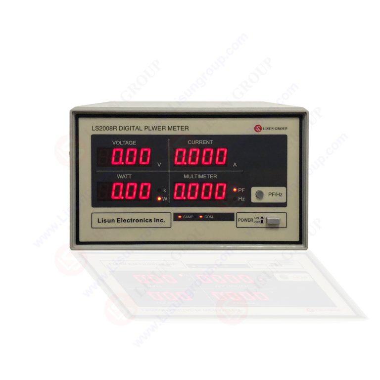 Цифровой измеритель мощности (модель переменного тока)