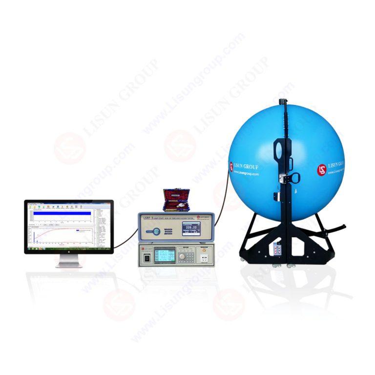 Sistema di test di avvio lampada, tempo di avvio e sfarfallio