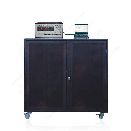 Système de test d'élévation de température du culot de lampe