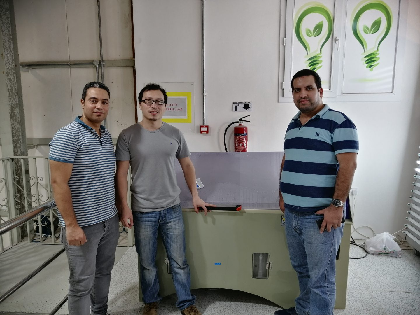Qatar - LISUN engineer provide installation and training services for LSG-1700B Goniophotometer, YWX/Q-750 Salt Spray Chamber, JL-56 Waterproof Jet Test Device