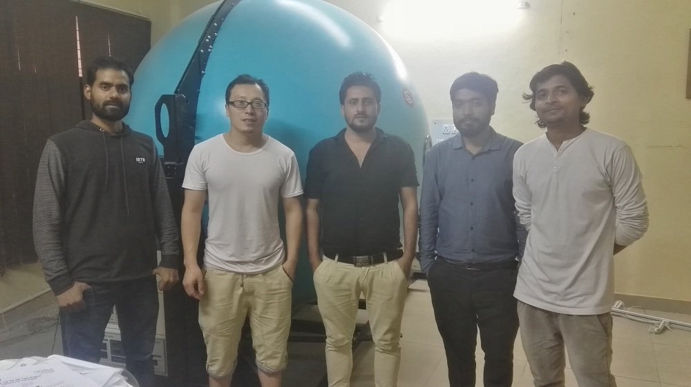 India - Installation and training for LPCE-3 CCD Spectroradiometer Integrating Sphere Compact System