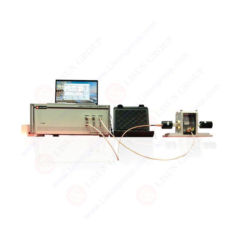 Système de test d'injection de courant en vrac