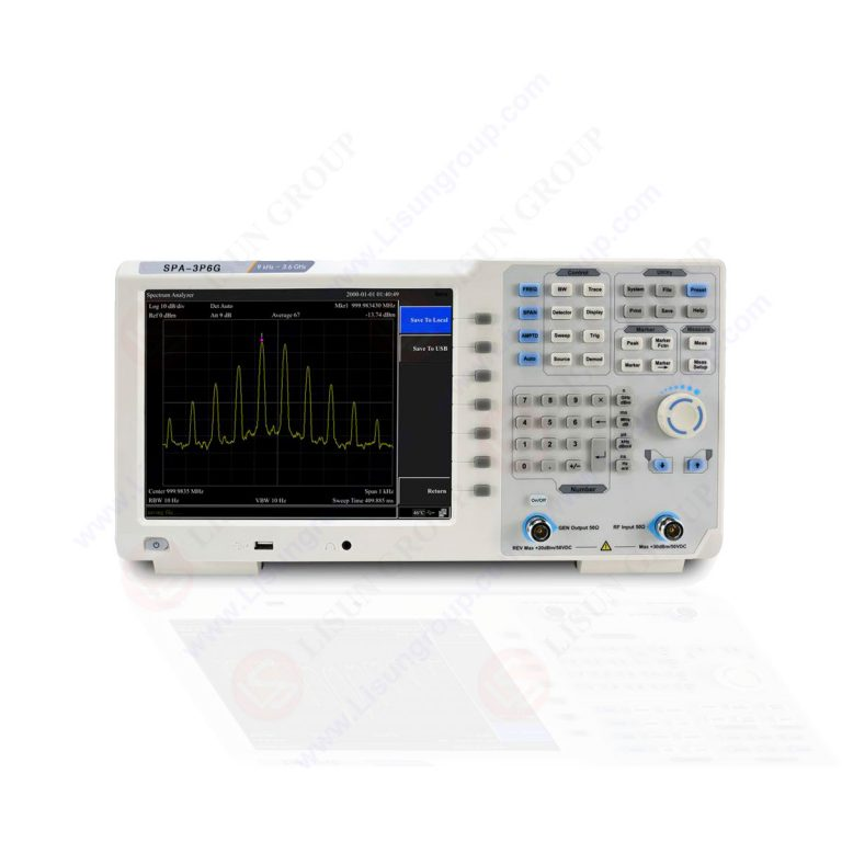 Spectrum Analyzer – Frequency Analyzers