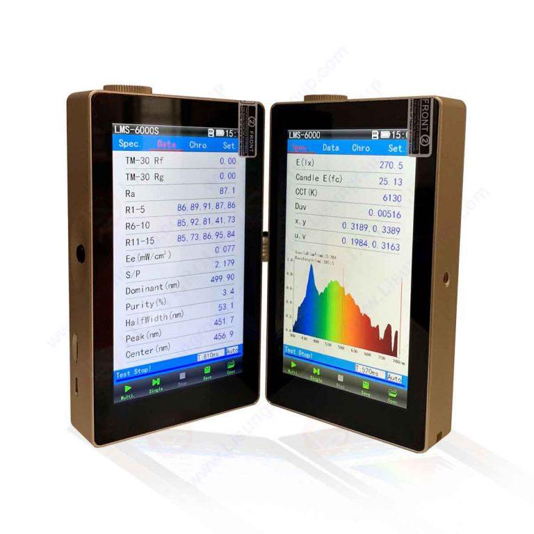 Spectroradiomètre CCD portable